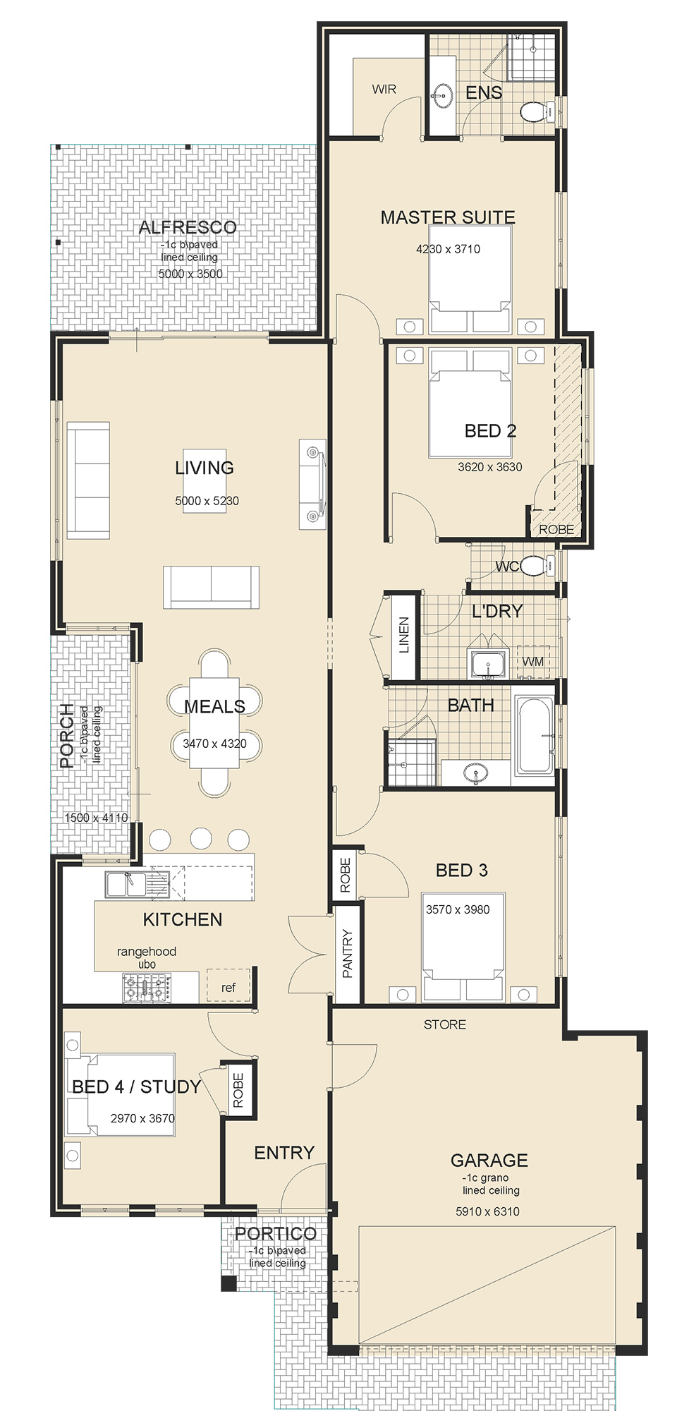 Osborne Front Garage Home Design New Two Storey Homes Perth