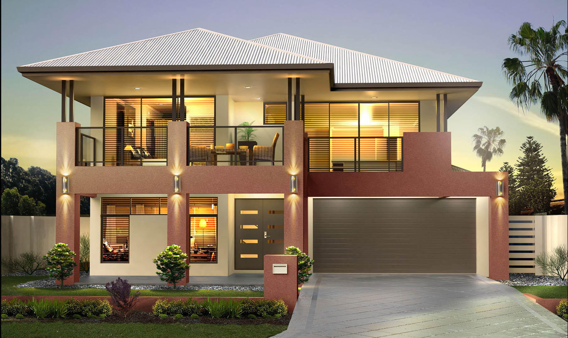 San remo series 1 upstairs living new 2 storey homes perth for Living house