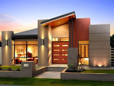 Single Storey Home Design