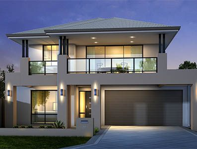 Two storey home builders perth house plans designs for Best two story house plans 2016