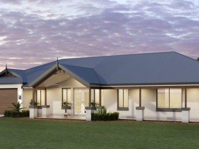 Birchmont Executive_3D Render house design