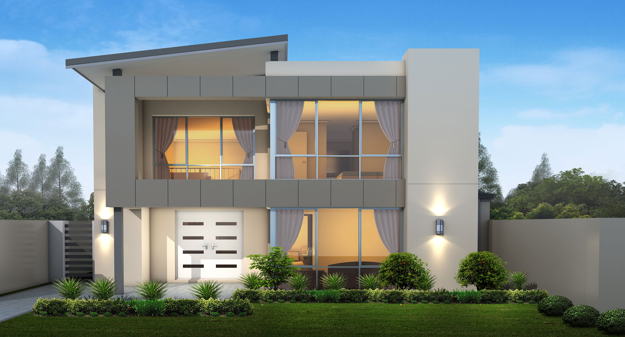 Alto Series 2 two storey house design