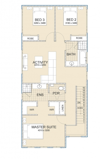 House plan for Artics Web