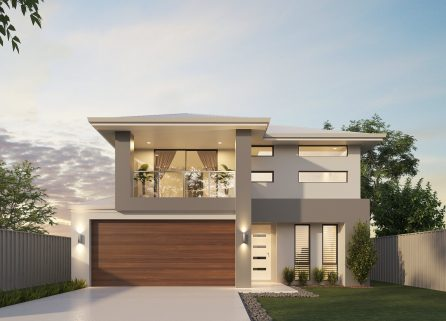 brentwood-2017 2 storey modern home design
