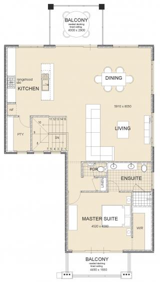 Calais-Upstairs-Living House Plan-2