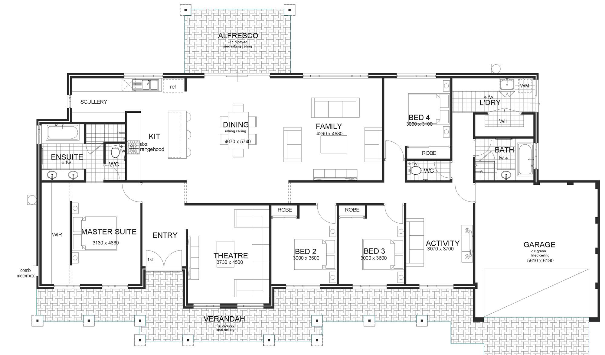 Glenwood modern house plan