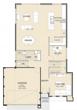 Grange Series 6 Classic House Plan-1