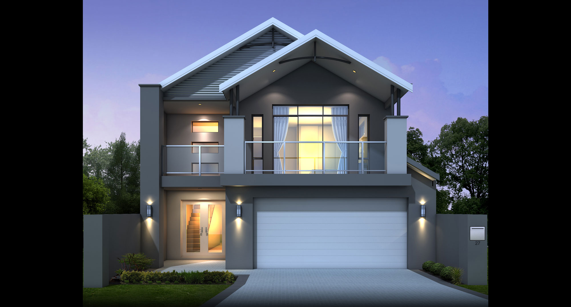 Narrow lot homes perth display houses designs great for Home plans for narrow lots