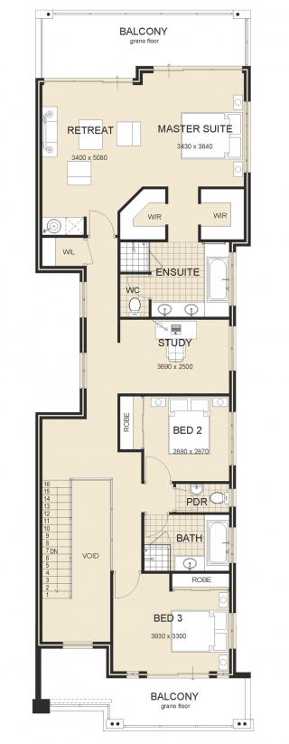 house design - Island-Retreat-Plan-2