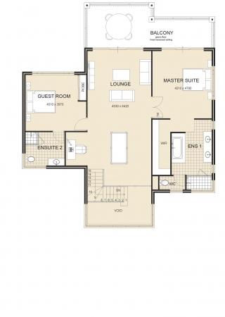 Livingstone-Executive-Metro house Plan 2