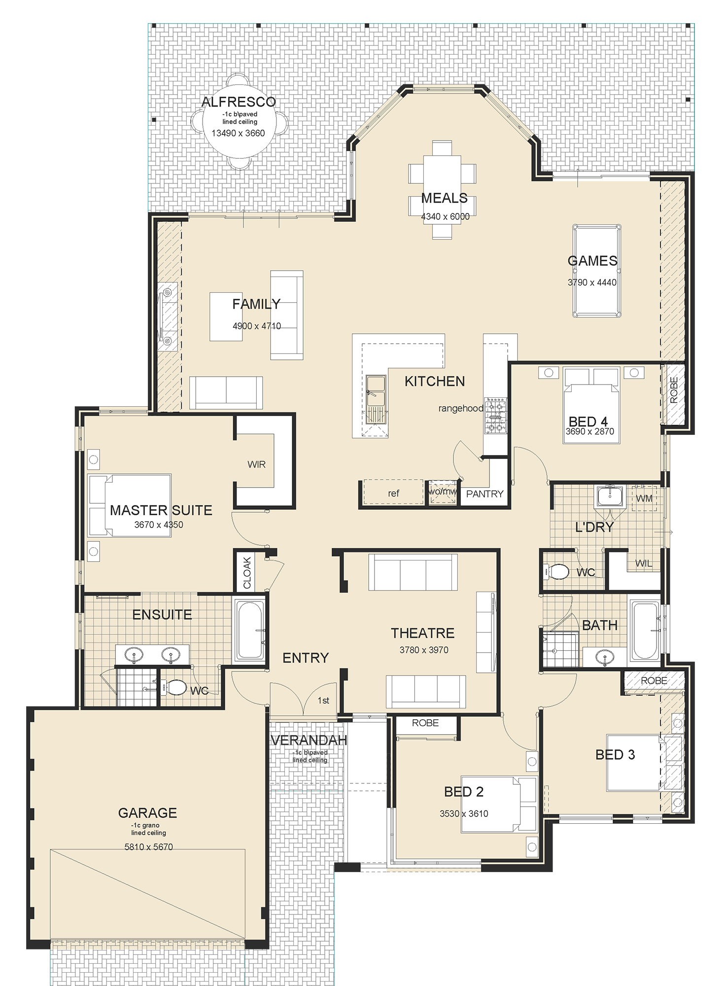Nautilus house plan sample perth