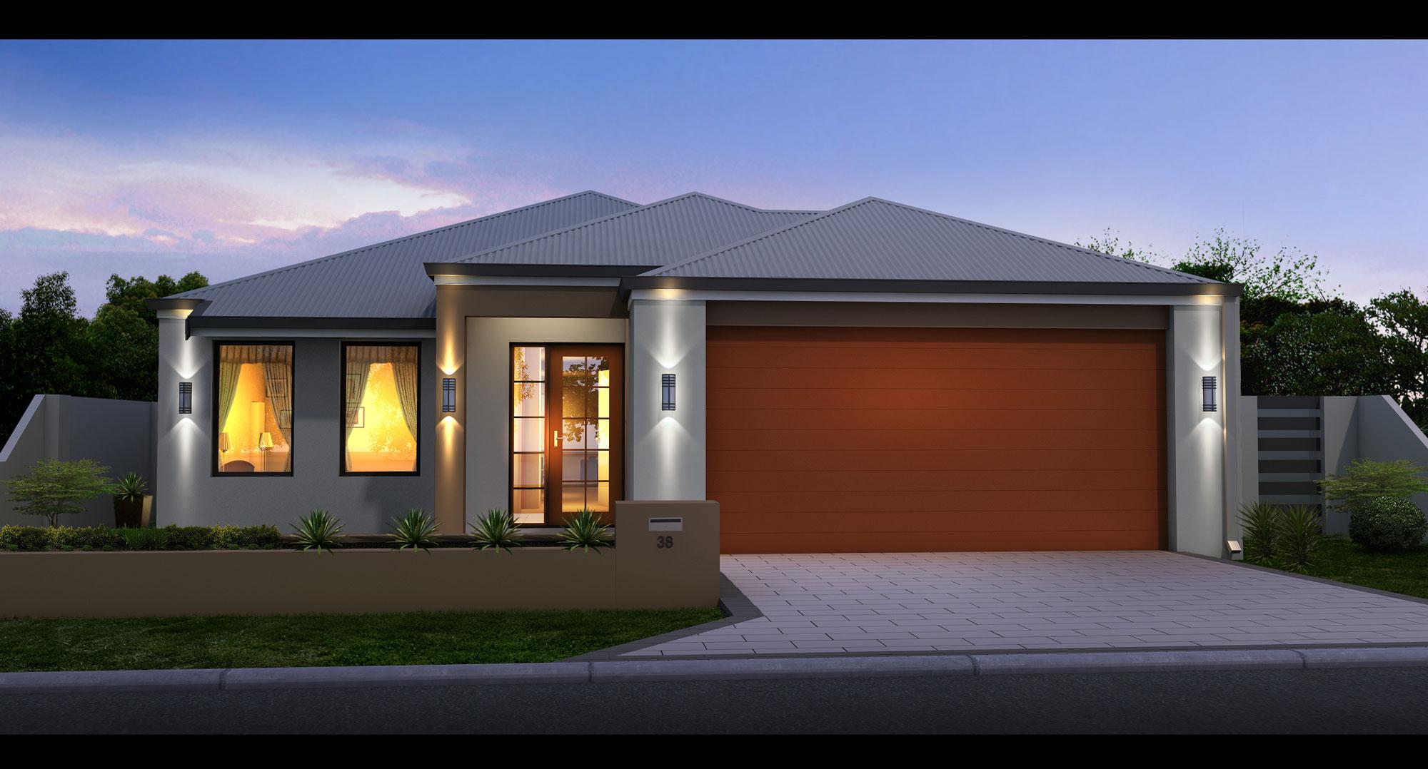 Osborne-Front-Garage house design