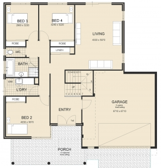 house plan - Panorama-Provincial-Plan-1