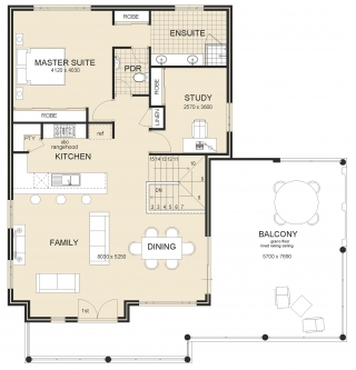 House plan - Panorama-Provincial-Plan-2