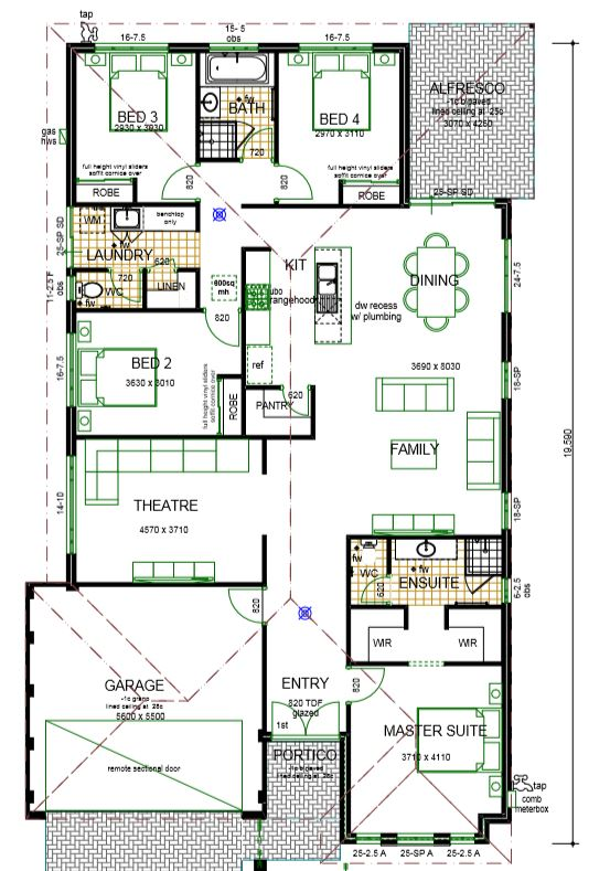 rosanna house plan sample