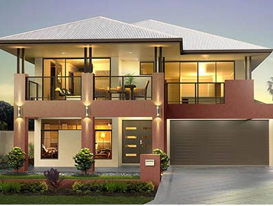 two storey house design San Remo S1