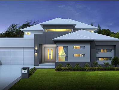 Livingstone-Executive-Metro-2000 - two storey house design perth