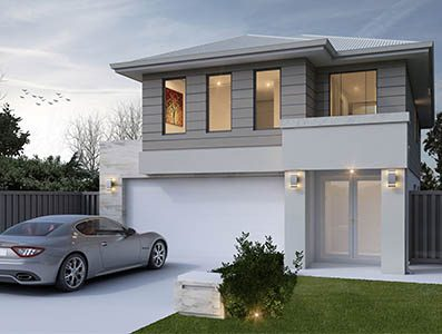 Artis 2000 two storey house design