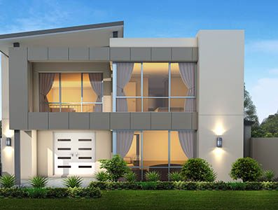 Alto Series 2 - 20 two storey house design