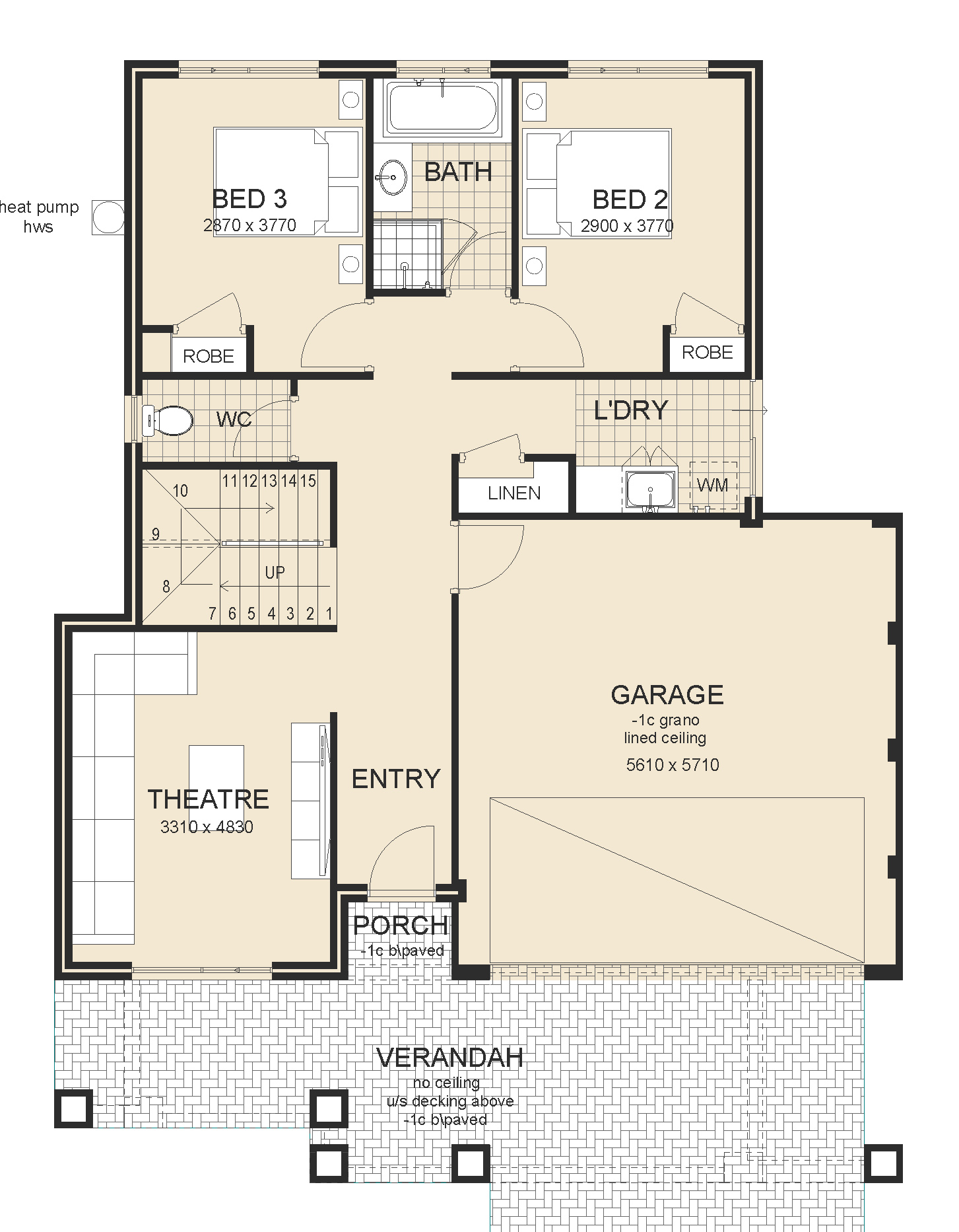 Arkana house plan