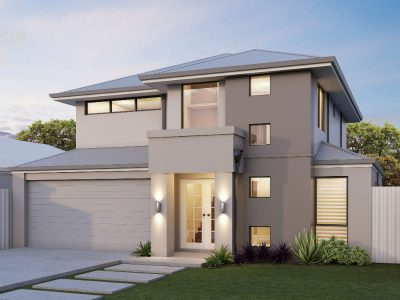 milano-exterior-new-elevation-2 - two storey house design 3d