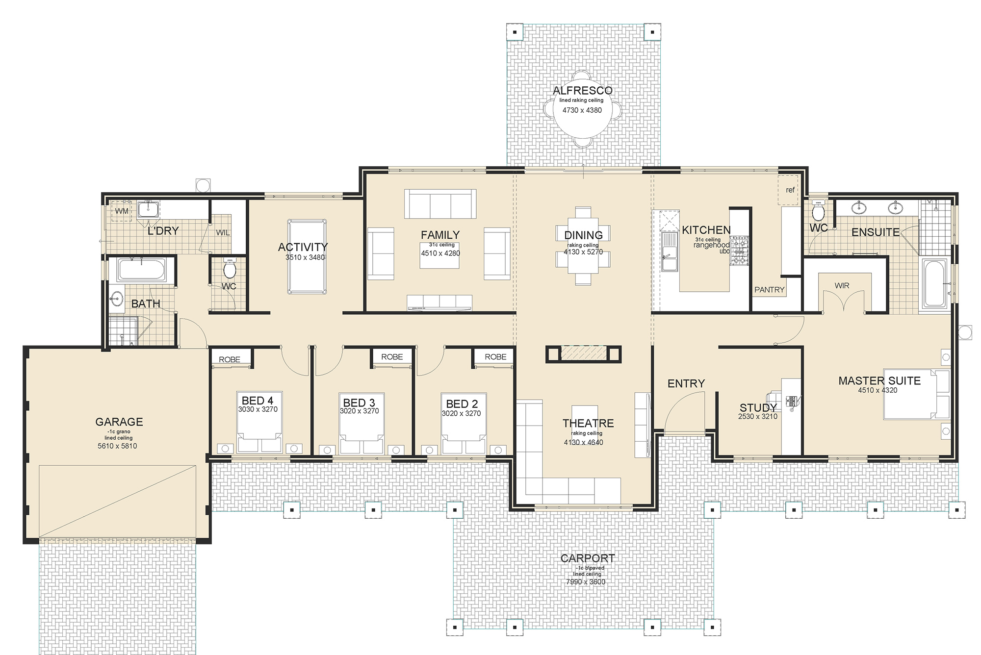 Northcliffe House Plan