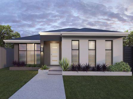 osborne-rear-garage 3D house design