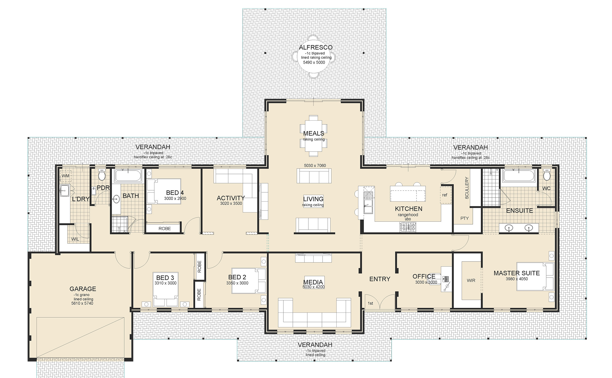 Principle house plan