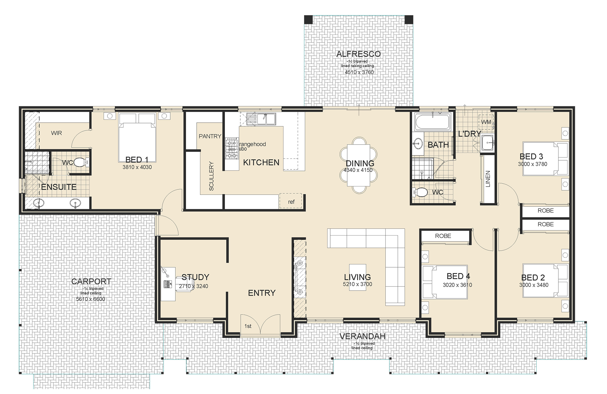 Scottsdale house plan sample