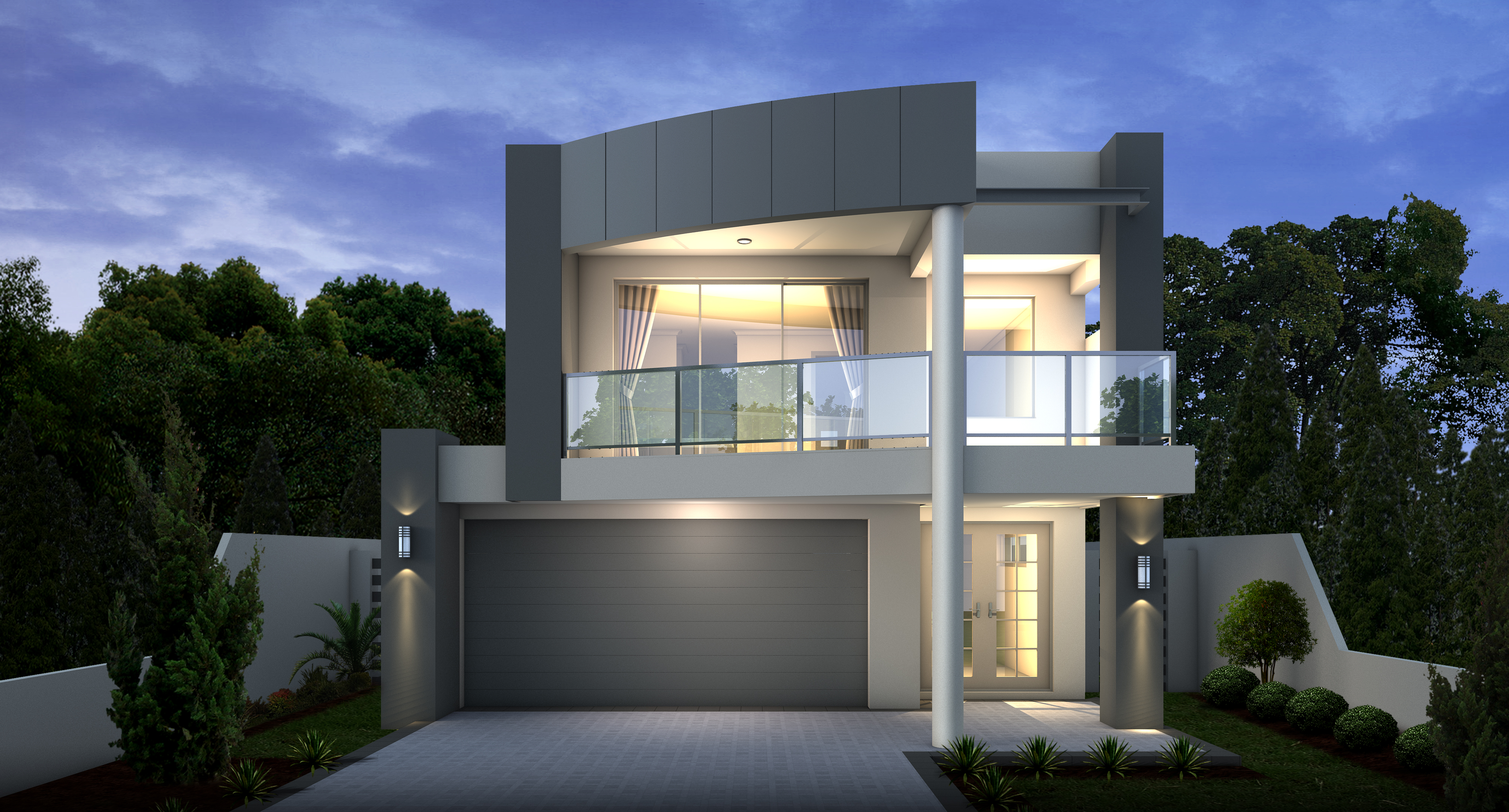 The virage modern 2 storey homes mandurah perth wa Home design latest