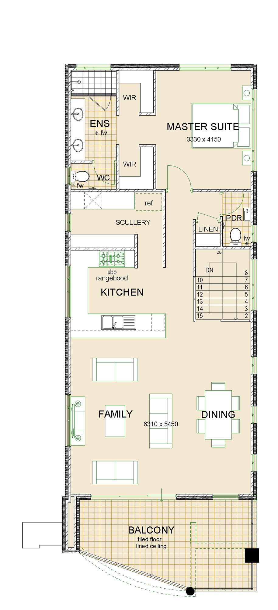 Virage house plan sample