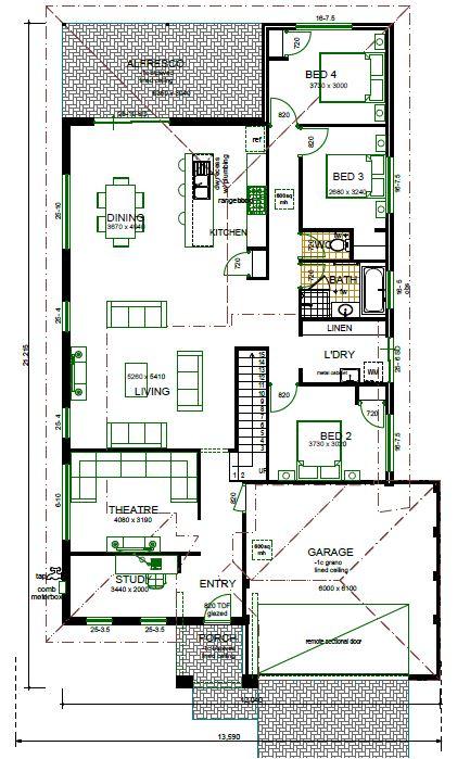 groundfloor plan house design