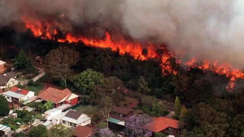 Bushfires Mandurah